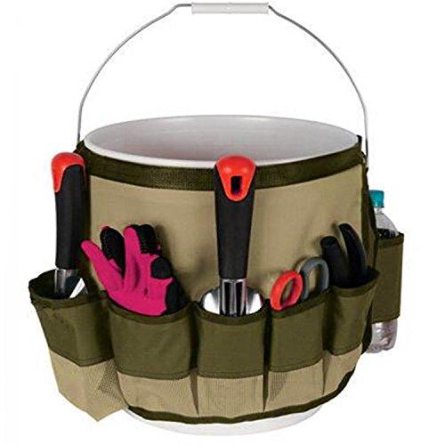 Nobiy's-sac a outils de jardins/Porte-outils en Nylon pour seau Anti-dechirure multifonctionnel Sacoche