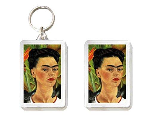 Llavero y Imán Frida KALHO 2
