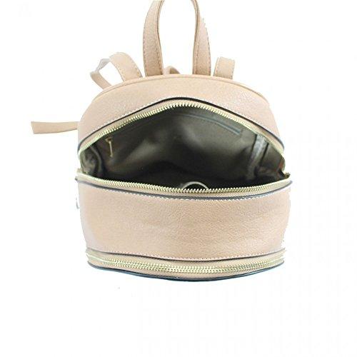 LeahWard® Damen Mädchen nett Essener Rucksack Taschen Damen Qualität Rucksack Tasche Schule Handtaschen 186 Braun H31cm x W29cm x D14cm