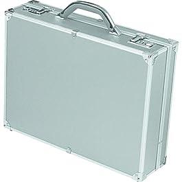 Alumaxx 45103Valigetta ventiquattrore,–Tasche,–Raccoglitore, Raccoglitore di College Alu OCTAN Argento