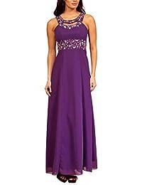 My Evening Dress - Langes Damen Abendkleid Ballkleid Empire Strassteinchen Cocktail