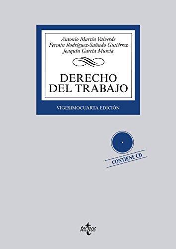Derecho del Trabajo: Contiene cd (Derecho - Biblioteca Universitaria De Editorial Tecnos)