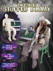 rror Lebensgröße Gefüllte Dummy Puppe (Lebensgroße Halloween-dekoration)