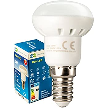 R39 LED 3W E14 Replacment for Reflector R39 LED Light Bulb Energy saving Light Bulb
