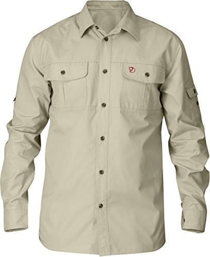 Fjällräven Herren Singi Trekking Shirt Ls Hemd, Dunkelgrau, Einheitsgröße limestone beige 217