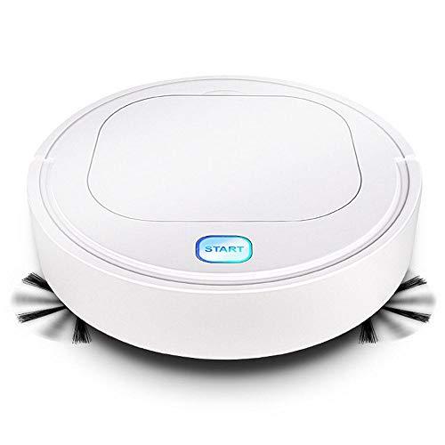 Volwco Robot Aspirador 3 en 1 Quiet Limpiador automático de vacío con 1200Pa succión Fuerte Sensor...
