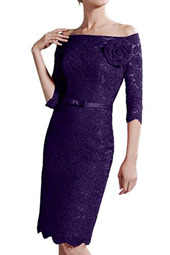 Ivydressing - Robe - Crayon - Femme violet foncé
