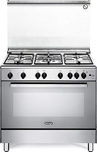 DeLonghi DGVX 96 cucina Piano cottura Acciaio inossidabile Gas A
