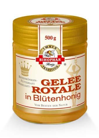 BIHOPHAR - Gelee Royale in Blütenhonig I Vital Serie I 500 g -