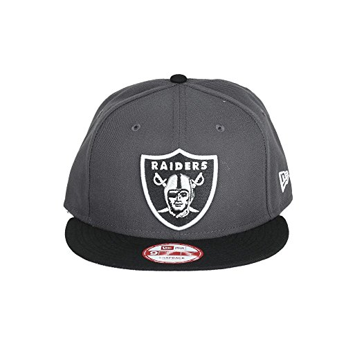 New Era NFL OAKLAND RAIDERS Two Tone 9FIFTY Snapback Cap Black / Gray