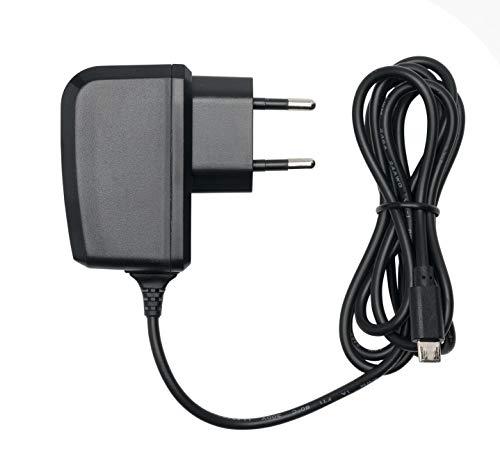 Slabo Ladegerät Micro USB Tablet Netzteil - 1000mAh - für Amazon Fire 7-Tablet | Kindle Paperwhite - SCHWARZ (Farbe Fire-ladegerät Kindle)