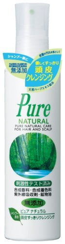 Pure Natural Scalp Cleansing 180ml