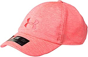 Under Armour, Twisted Renegade Cap, Cappellino, Donna, Arancione (Brilliance/Cape Coral/Coral Cove 819), Taglia unica
