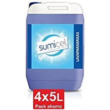 Sumicel Lavaparabrisas detergente líquido, garrafa de 5 litros ...