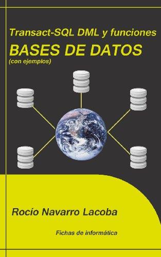 Transact-SQL DML y funciones - Bases de datos (Fichas de informática)