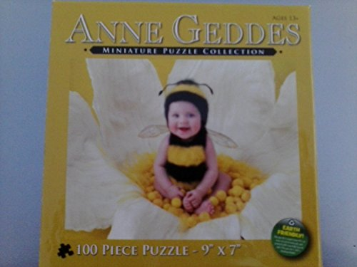 Bee Baby Für Outfit Bumble (Anne Geddes Miniature Puzzle Collection 100 Pc 9