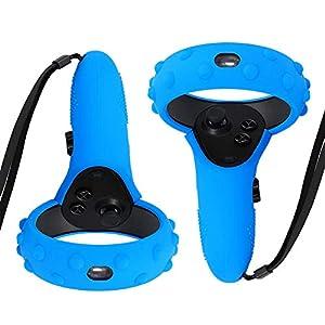 ProCase Oculus Rift Cover Case für Oculus Quest/Rift S Griff, Anti-Rutsch-Schutzhülle Silikonhülle für Oculus Quest Touch Controller, 1 Paar(2er Packung) Silikon Grip Cover