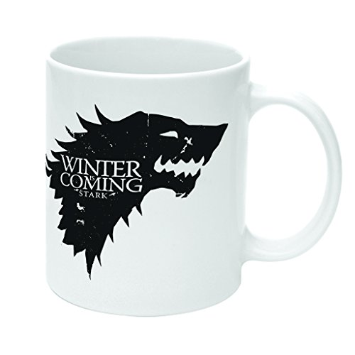 Tazza Winter Is Coming Stark Game Of Thrones by Mush