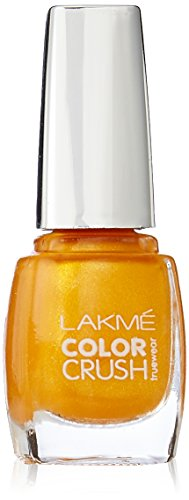 Lakmé Truewear Color Crush, Yellow, 9ml
