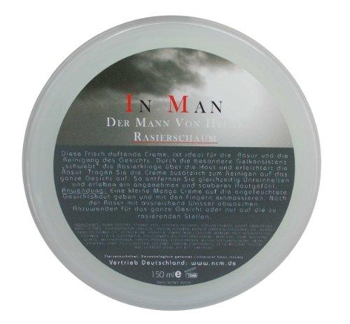 In Man Crème de rasage nettoyante 2 en 1