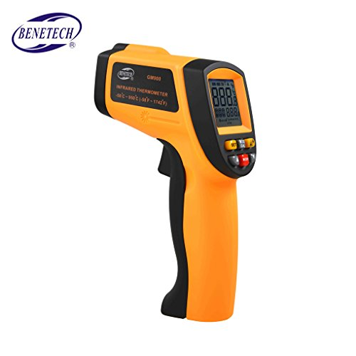 Lorsoul GM900 Thermometer Digital IR Infrarot-Temperatur-Messgerät, berührungslose LCD Hand -50 ℃ -950 ℃ und -58 ℉ -1740 ℉ Pyrometer -