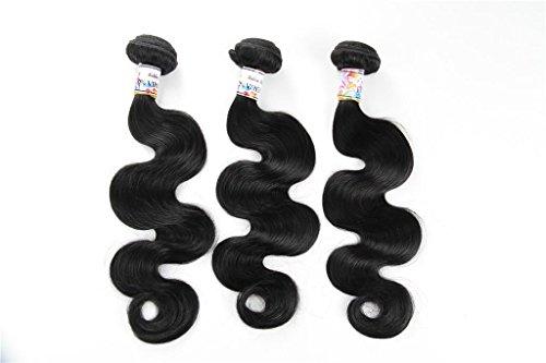 brasilianische Haar mischen Länge 3 Boulevard Körper Welle Jungfrau brasilianischen menschlichen Haar mehrere Farbauswahl 8-24 Zoll , 20 22 24 ()