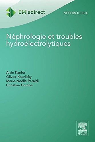 Nphrologie et troubles hydrolectrolytiques