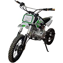 KENROD Moto Gasolina Moto Cross 125CC Moto Cross Cuatro Tiempos Moto Pit Bike Color Blanco