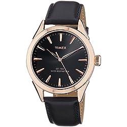 Timex Fashion Analog Black Dial Men's Watch-TW000Y901