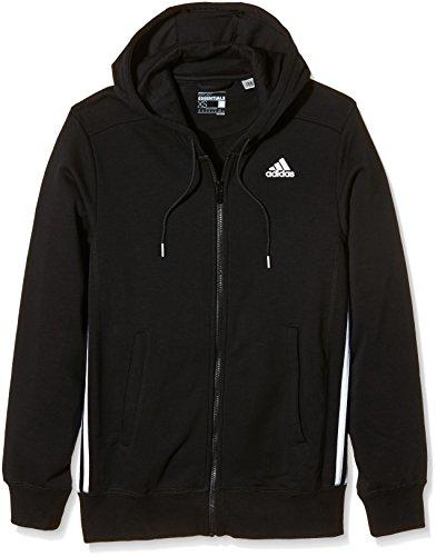 Adidas Essentials FZ giacca da allenamento con cappuccio 3S Mid Hood