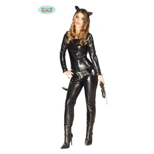Costume vestito gatta Catwoman 80751 TG.UNICA