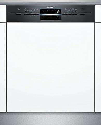 Lave-vaisselle Integrable - Siemens SN55L632EU Semi built-in 12places A++ Noir,