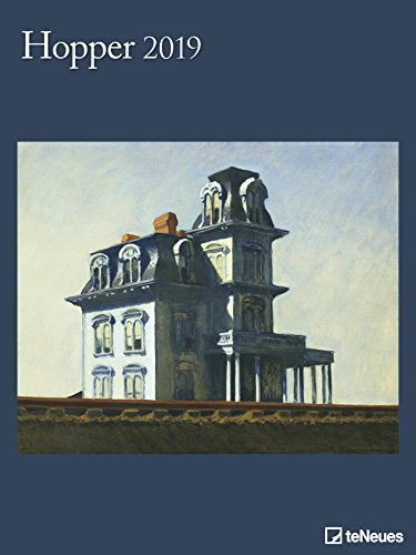 Hopper Kunstkalender 2019 - Posterkalender, Kunstkalender, Amerikanischer Realismus 2019 - 48 x 64 cm -