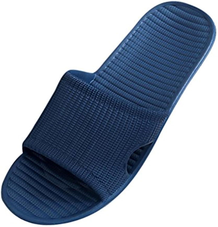 Chanclas Hombre, ☀�� Ba Zha Hei Sandalias Flip-Flop Para Hombre Zapatillas antideslizantes para baño Zapatos hombre