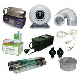 Pack securité 600 W cool tube 420 m3/h
