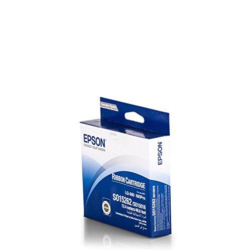 Original Epson C13S015262 / S015262, für EX 80 Premium Nylonband, Schwarz