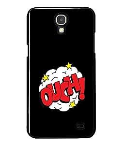 Printvisa Designer Back Case Cover for Samsung Galaxy Mega 2 SM-G750H (Red Clouds Stars Misery )