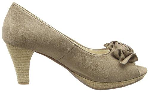 Andrea Conti 0733109, Chaussures Beiges À Talons Hauts Pour Femme (beige (taupe 066))