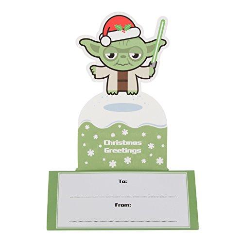 "Image of Hallmark Star Wars Son Card ""Yoda"" - Medium"