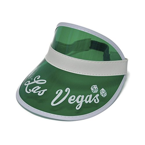 Raoul Kostüm Duke - Hunter S. Thompson Las Vegas Green Visor