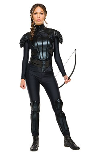 Rubie 's Offizielles Erwachsene 's Katniss Rebel Kostüm The Hunger Games – XS (Halloween-kostüme Hunger Games)