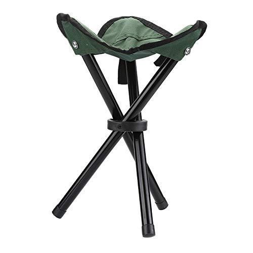 Lisserf Klappstuhl Outdoor Camping Wandern Angeln Picknick Garten BBQ Hocker Stativ Füße Angeln Stuhl Falten