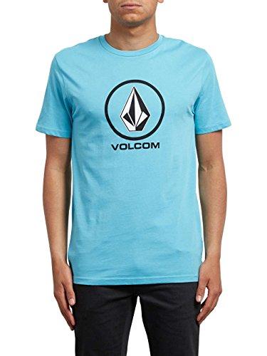 Volcom Crisp BSC SS Shirt, Kurzarmhemd Blue Bird