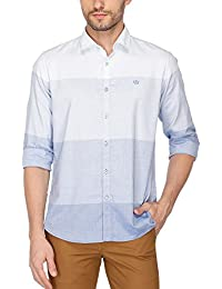 Van Heusen Sport Mens Regular Collar Colour Block Shirt