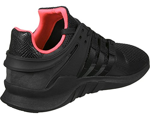 adidas Equipment Support Adv, Sneaker a Collo Basso Unisex – Adulto black/turbo
