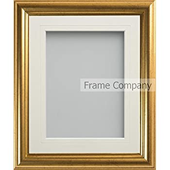 Frame Company Eldridge Range 10x8 Inch Gold Picture Photo Frame with ...