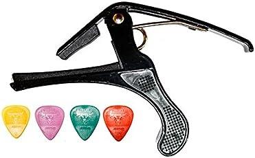 SG Musical Combo Guitar Capo And Picks + Ball Pen