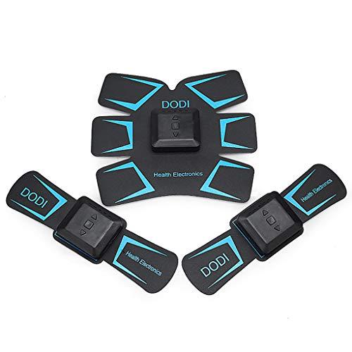 Elettrostimolatore Muscolare EMS Addominali Attrezzi Trainer ABS Stimolatore USB Ricaricabile Fitness, Unisex Domestico Pigro Allenamento Addominale Allenarsi Movimento Attrezzature per Il Fitness