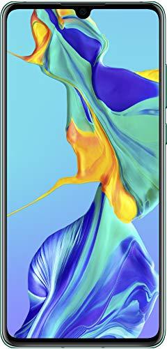 Huawei P30, 6 GB RAM + 128 GB, Stunning 6.1 Inch OLED Display, Android.TM 9.0 Pie, EMUI 9.1.0Sim-Free Smartphone, Dual SIM, Aurora, UK Version Best Price and Cheapest