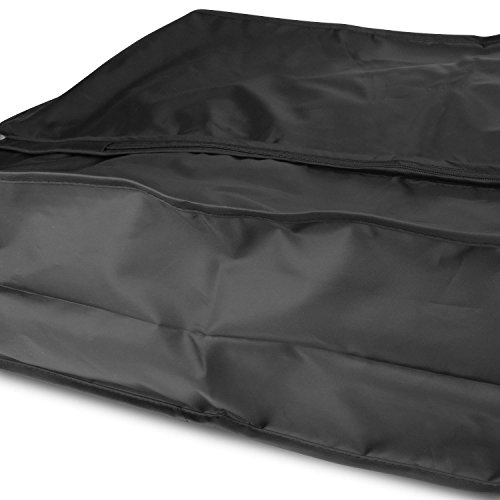 Atmungsaktiver Nylon Kleidersack Für Mehrere Kleidungsstücke - Schwarz - 112 cm - Hangerworld -